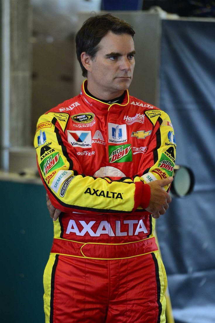Friday, July 22, 2016  -   INDIANAPOLIS, IN - JULY 22: Jeff Gordon, driver of the No. 88 Axalta Chevrolet, prepares to drive during practice for the NASCAR Sprint Cup Series Crown Royal presents the Combat Wounded Coalition 400 at the Brickyard at Indianapolis Motor Speedway on July 23, 2016 in Indianapolis, Indiana.