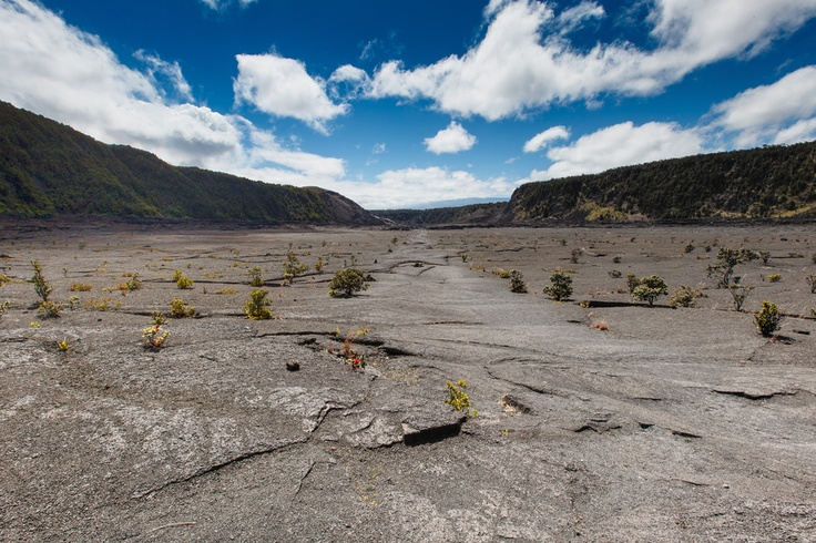 Coast to Coast Dream Hikes. Kilauea Volcano (Halema'uma'u, Kilauea Iki, and Crater Rim Trails). Hawaii Volcanoes National Park.