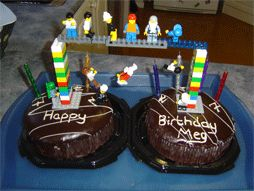 Lego can join cakes together!