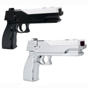 CTA Digital WI-GCS Wii Magnum Laser Gun Set - 1 Black Gun, 1...