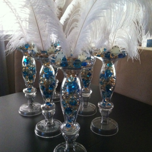 21st Birthday Table Arrangements: 38 Best Images About Casino Fun On Pinterest