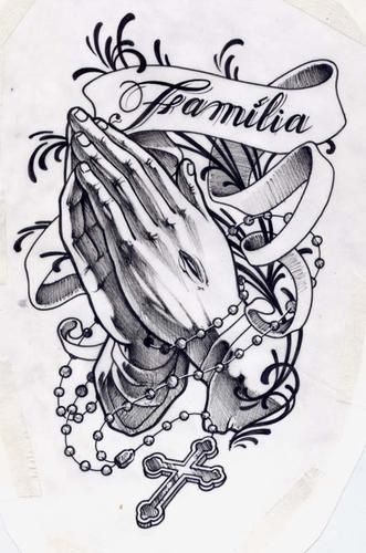 Praying hands Hands and The banner on Pinterest