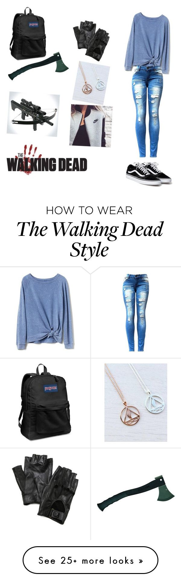 """""""set 01"""" by a-lexiswolfe on Polyvore featuring JanSport, Gap, Carolina Amato and NIKE"""
