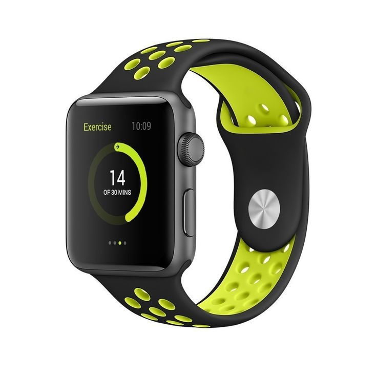 Delivery Time:2-3 business days  	Made by top quality TPU material, safe and soft, the Sport Band reduces weight and improves ventilation via row after row of compression‑molded perforations.  	High quality replacement watch band designed for Apple iWatch/Apple Watch Series 2  	Made by top quality TPU material, safe and soft, it's your perfect running partner — on your wrist..  	Perfectly fit for apple watch series 1 series 2 sport & edition as pictures show  	if you have any problem, please…