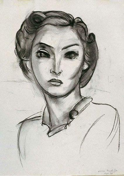 Henri Matisse, Tête de femme, 1936