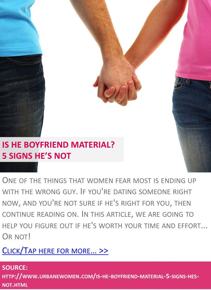The best: 5 signs you're dating the right guy