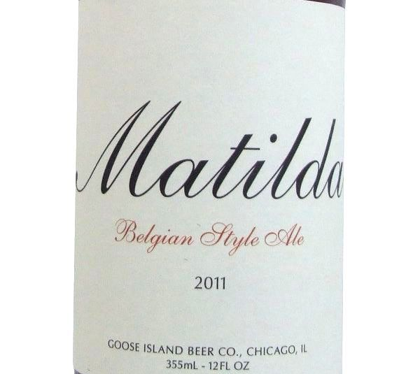 Goose Island Matilda 355ml Beer in New Zealand - http://www.frenchbeer.co.nz/beer-from-france-in-nz/goose-island-matilda-355ml-beer-in-new-zealand/ #French #Beer #nzbeer