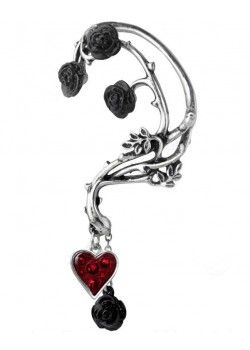 Bed of Blood Roses Earring
