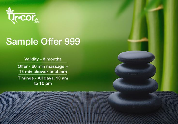 Sample #AlcorSpa Services at just Rs. 999/- (1 hour Massage + 15 minutes Shower/Steam) For details & online registration visit: http://www.alcorspa.in/inaugural-offer.php