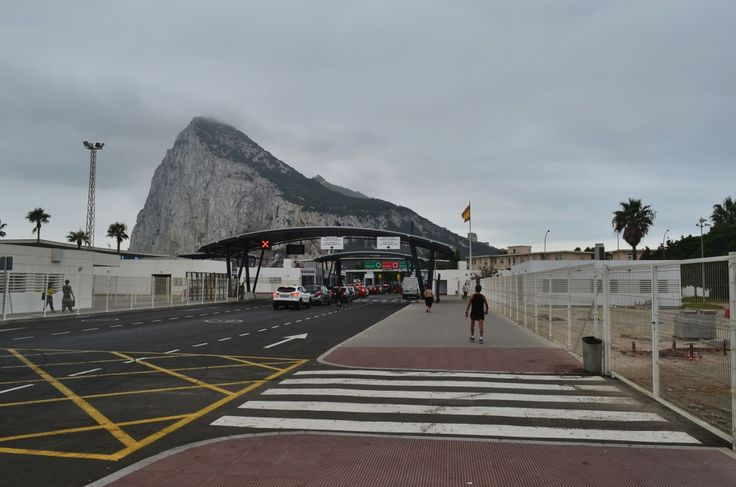 Gibraltar Border with Spain www.skytravelr.com