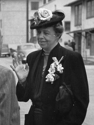 Eleanor Roosevelt  					  						Co-president of the United States, 1933-1945.