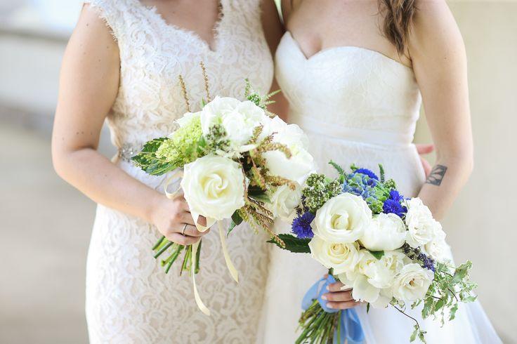 White Lisianthus Bridal Bouquets