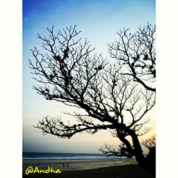 Waiting for sunset to come at Pok Tunggal beach, Gunung Kidul, Yogyakarta.