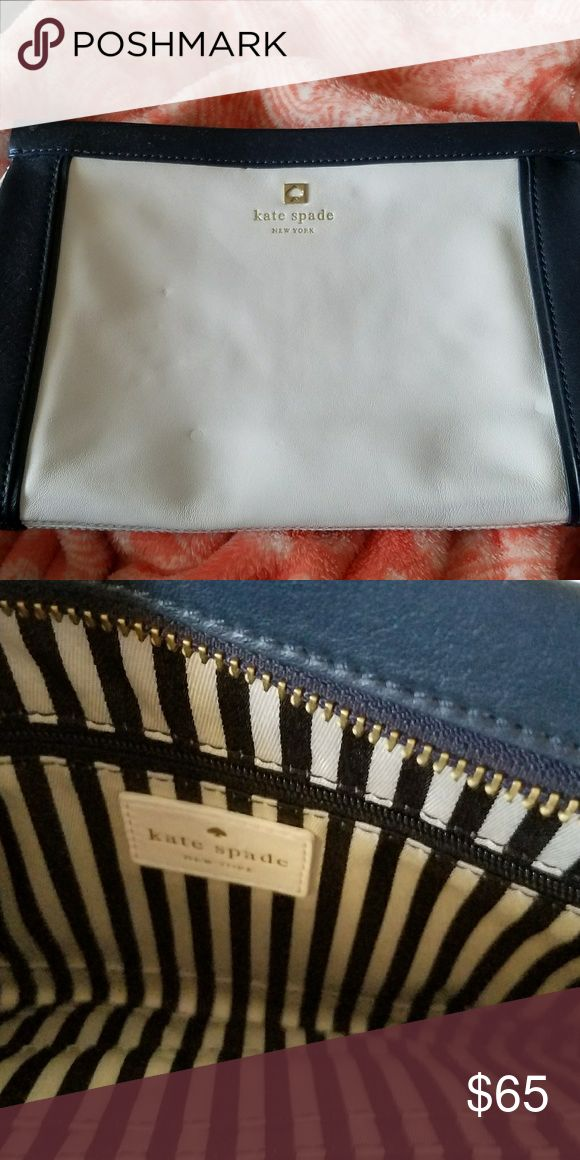 Kate Spade Clutch Blue and white clutch Kate Spade Bags Clutches & Wristlets