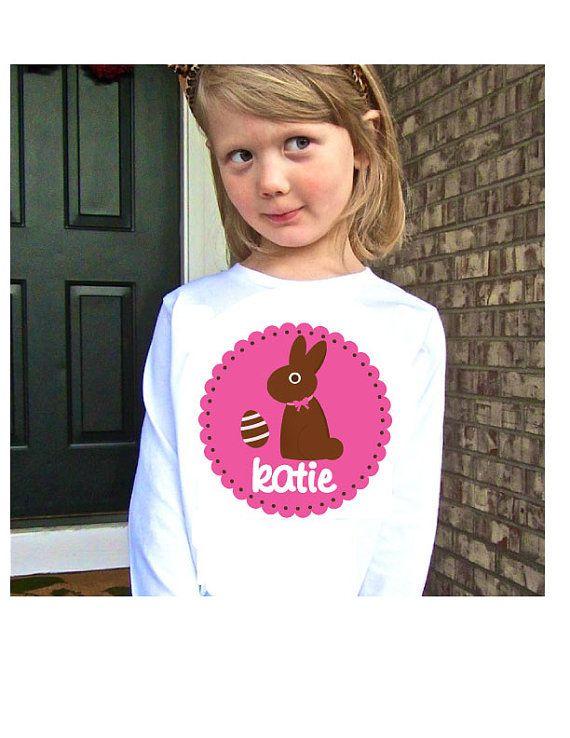 FM Personalized Bunny Egg Tshirt