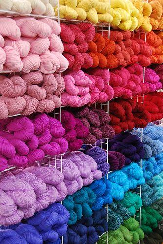 Such gorgeous yarn