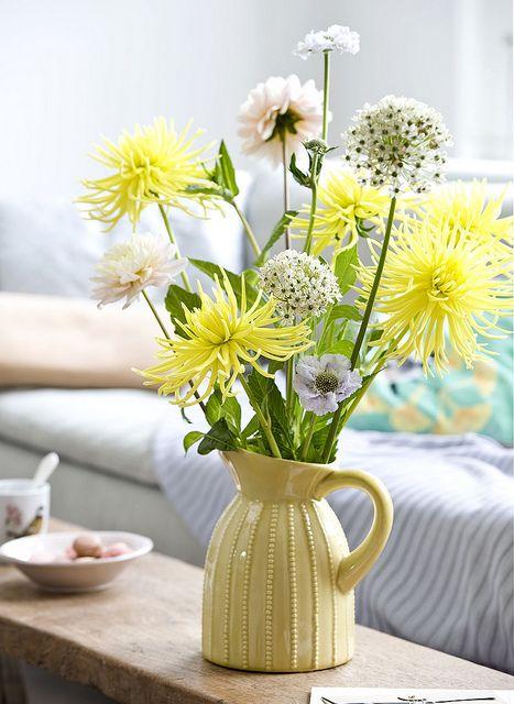 Vier de zomer met seizoensbloemen. Een feestje wordt extra vrolijk met bloemen. Elk seizoen heeft haar eigen bloemsoorten en tijdens de zomermaanden zijn dat onder andere Gladiolen en Dahlia's.  http://www.gezondheidskrant.nl/56295/vier-de-zomer-met-seizoensbloemen/
