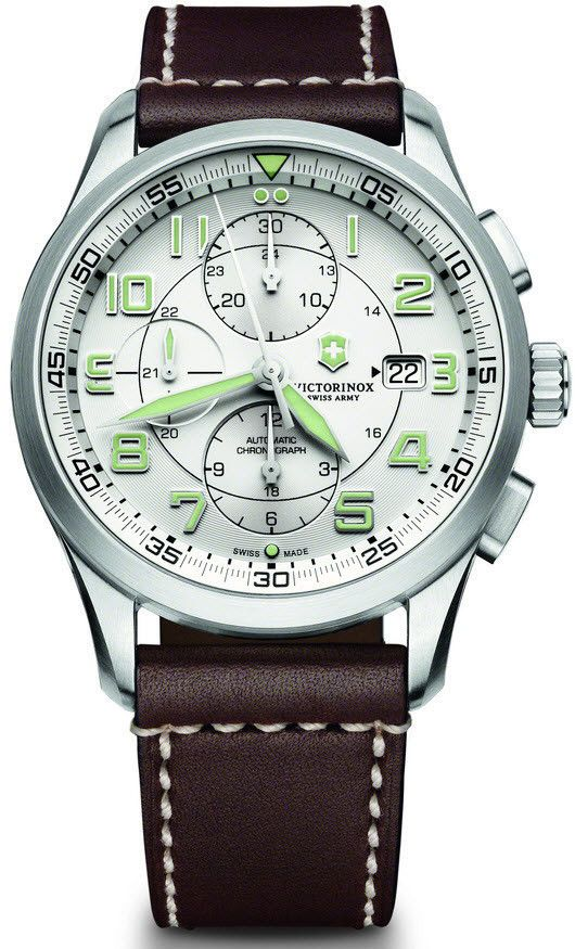 Victorinox Swiss Army Watch AirBoss Mechanical Chronograph #bezel-fixed…