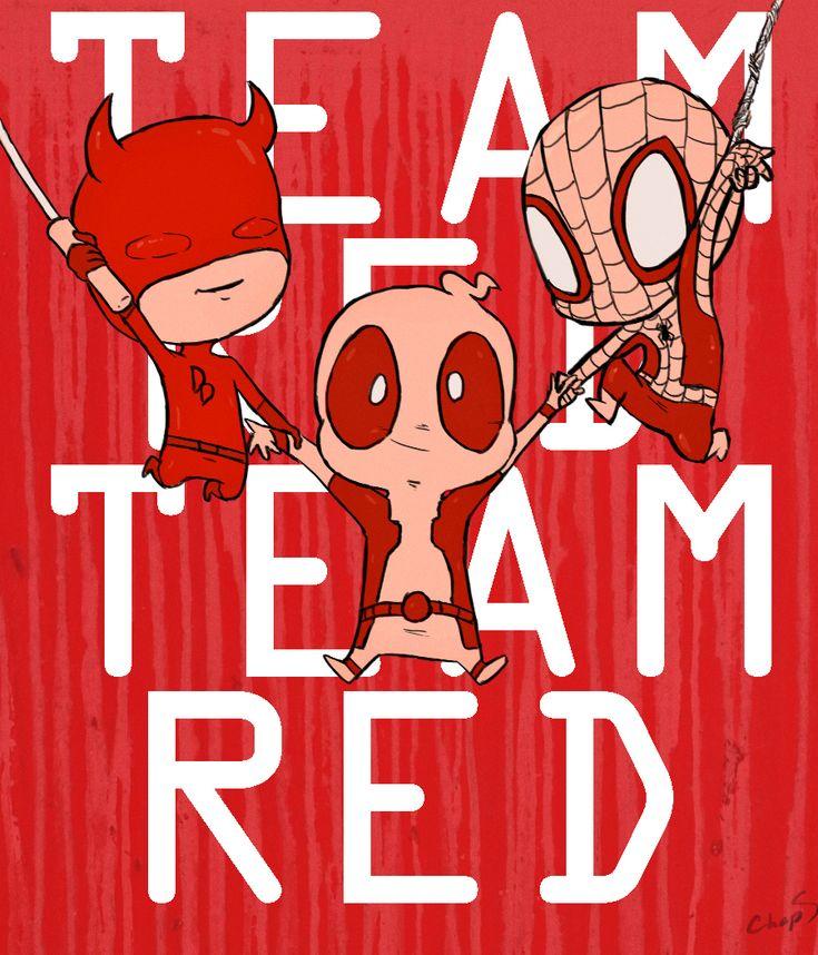 Marvel+Red+Team+Tumblr | team red by lordbeef cartoons comics digital media cartoons drawings ...