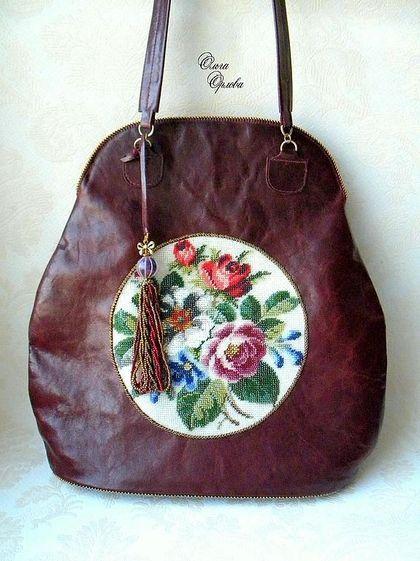 Женские сумки ручной работы. Ярмарка Мастеров - ручная работа. Купить Красная сумка. Handmade. Бордовый