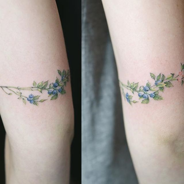 Blueberry tattoo…                                                                                                                                                                                 More