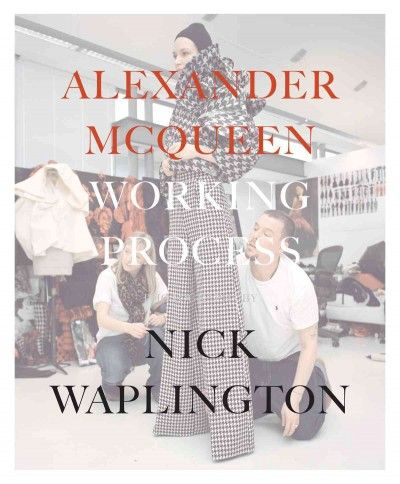 A series of photographs depicting the creation of Alexander McQueen's autumn/winter 2008 collection.