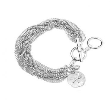 Seabreeze Bracelet in Silver– available in gold and silver.$24.00 Get 25% off this bracelet with coupon code 'foxypin' www.foxyoriginals.com, #bracelet, #silverbracelet, #silverjewelry, #sistergift, #jewelrygift, #gift, #holidaygift, #summer, #vacation, #beachystyle, #accessories, #teenagergift,
