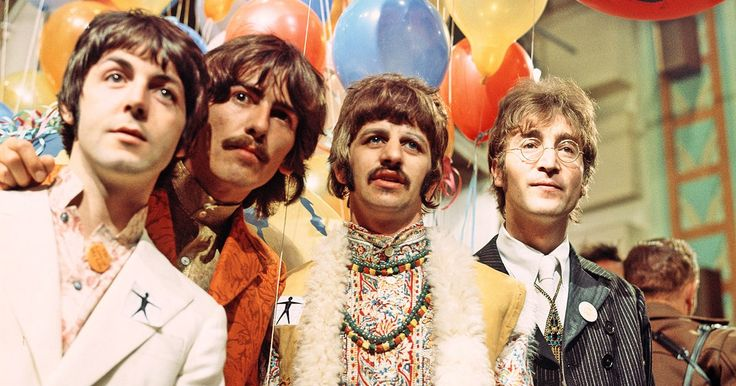 On the Charts: 50 Years Later, Beatles' 'Sgt. Pepper' Back in Top Three #headphones #music #headphones
