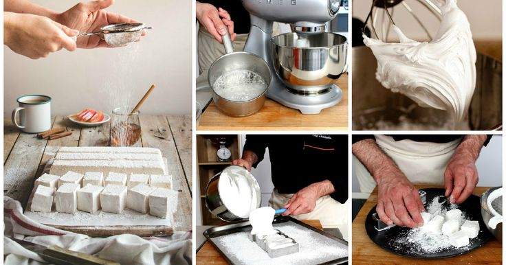 Come preparare i marshmallow fatti in casa