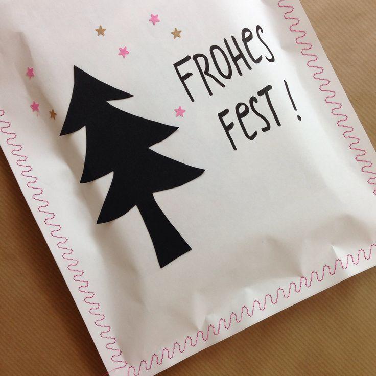 geschenk einnähen! #waseigenes #diy #christmas #present #frohesfest