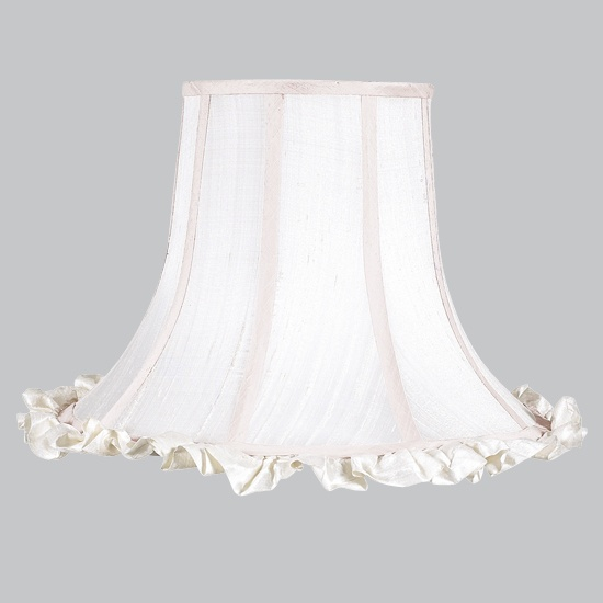 100 best lamp shades images on pinterest extra large lamp shades x large lamp shade white ruffle aloadofball Image collections