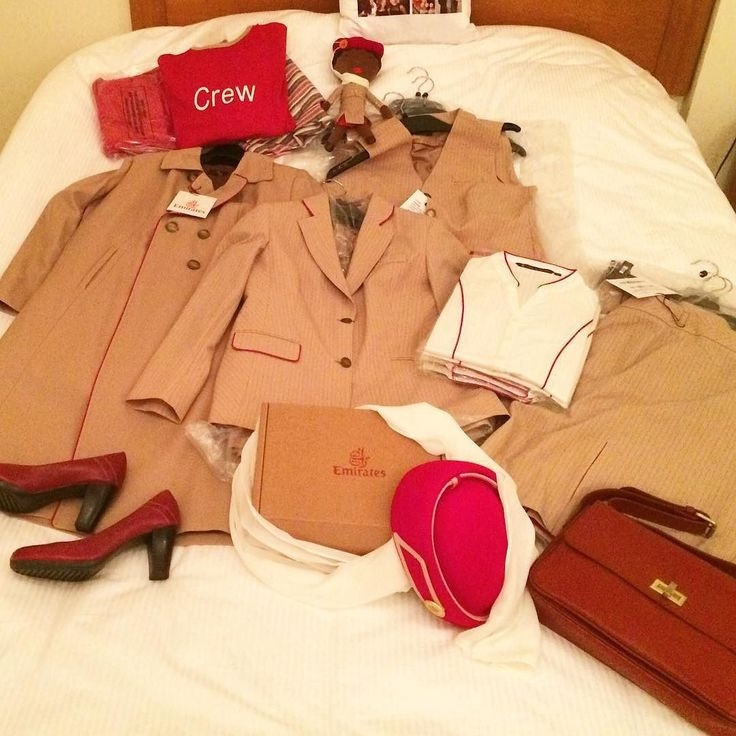 Unpacking #cabincrew #uniform #emirates #hellotomorrow #emiratesairline #crewlife by anna_nagy_a