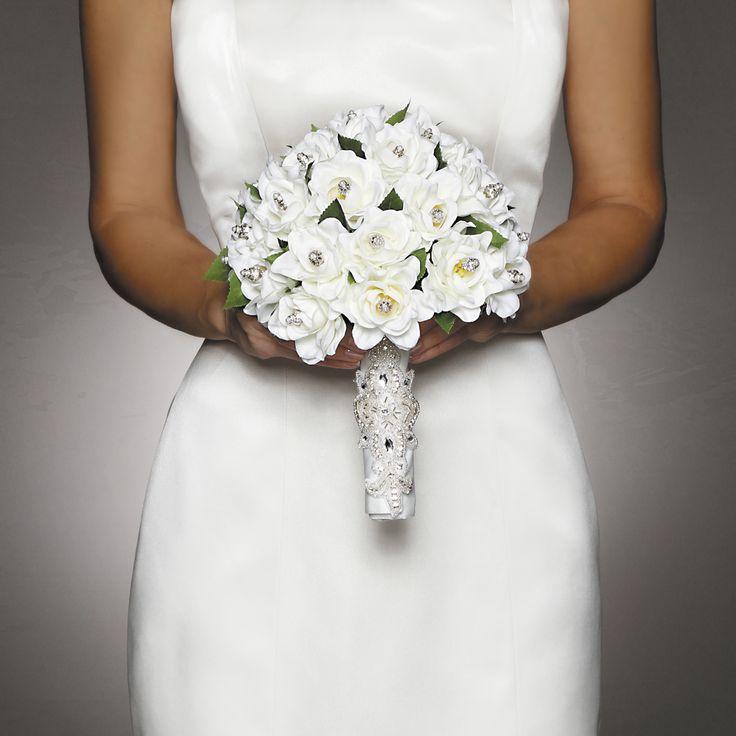 David Tutera™ Applique Accent Bouquet Wrap, , hi-res