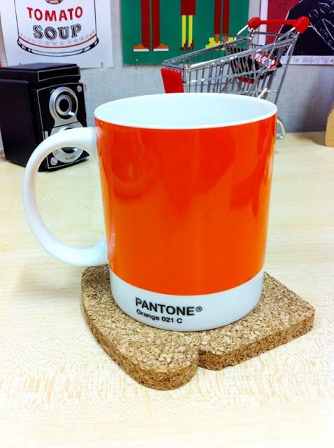 Orange Pantone Mug - Urban Depot (Leederville)