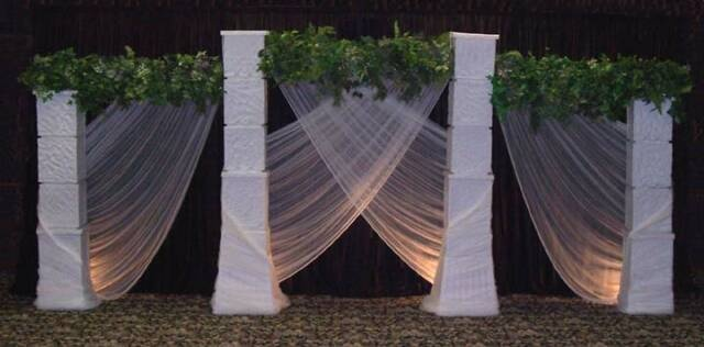 Vintage Wedding Of Shawn And Zack In Rancho Santa Fe: 27 Best Wedding Columns And Arches Images On Pinterest