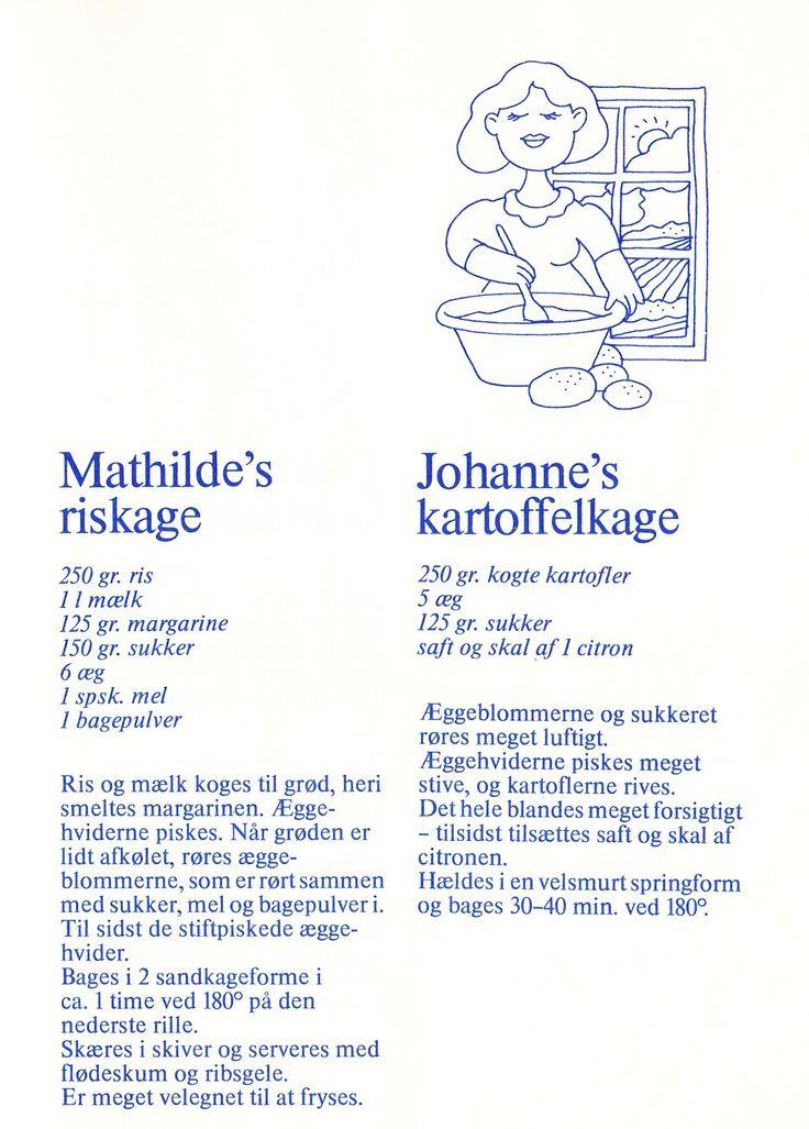 Roslage og kartoffelkage