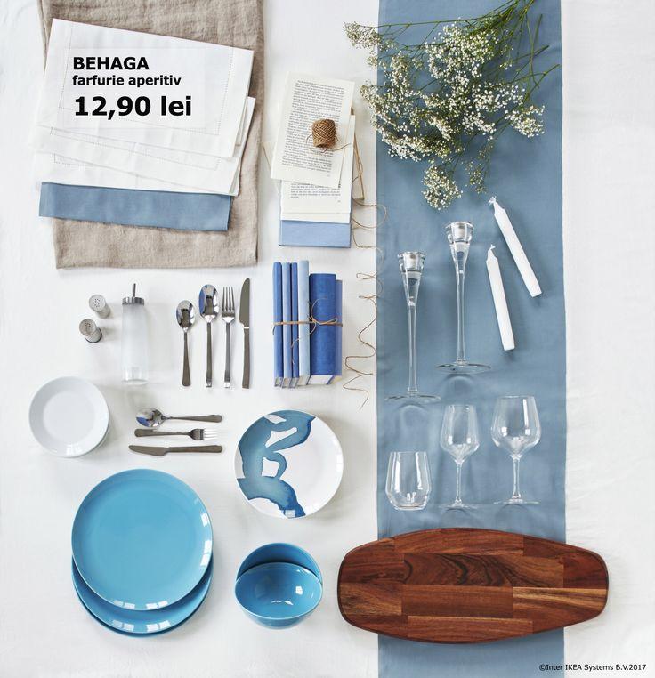Vesela BEHAGA aduce și mai multe veselie la mesele în familie și este ușor de combinat pentru a crea un decor original.