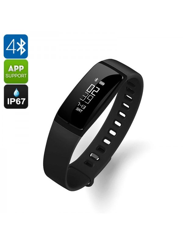 Ordro S11 Smart Sports Wristband (Black)