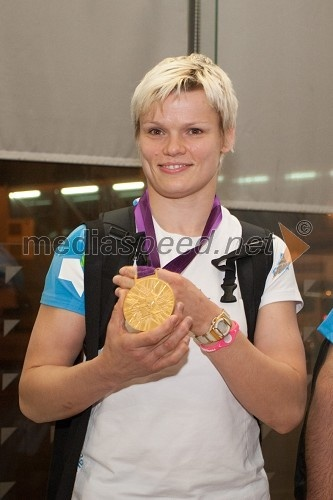 Urška Žolnir, judoistka (Olympics-gold)