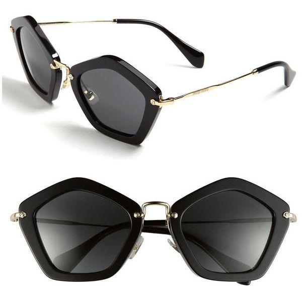 miu miu geometric sunglasses 365 liked on polyvore polyvore pinterest miu miu. Black Bedroom Furniture Sets. Home Design Ideas