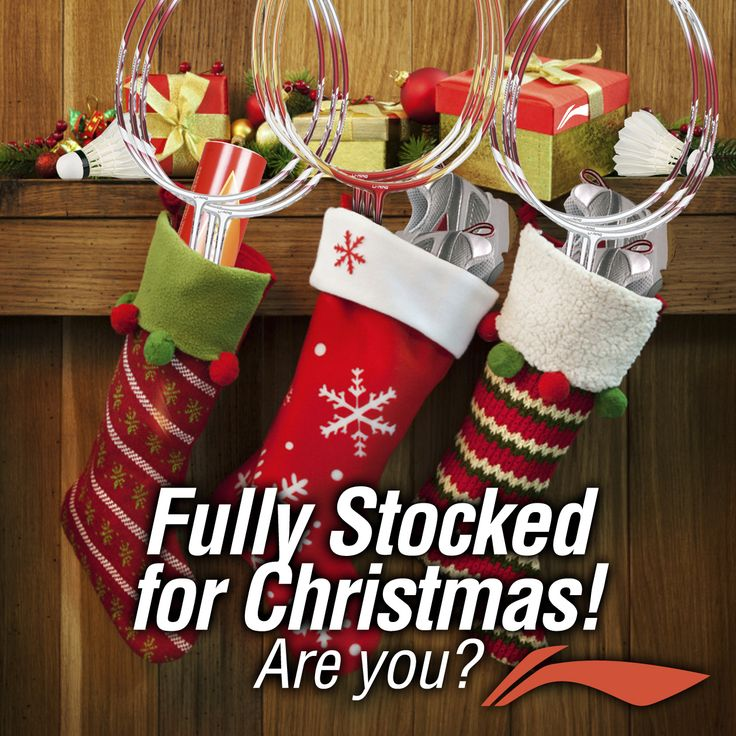 NAUGHTY or NICE? Get the badminton lover in your life a Christmas gift they will truly LOVE this year! We're FULLY STOCKED with one of the largest selections of badminton products and equipment anywhere! See your local dealer or visit our online badminton store at www.shopbadmintononline.com and #MakeTheChange!