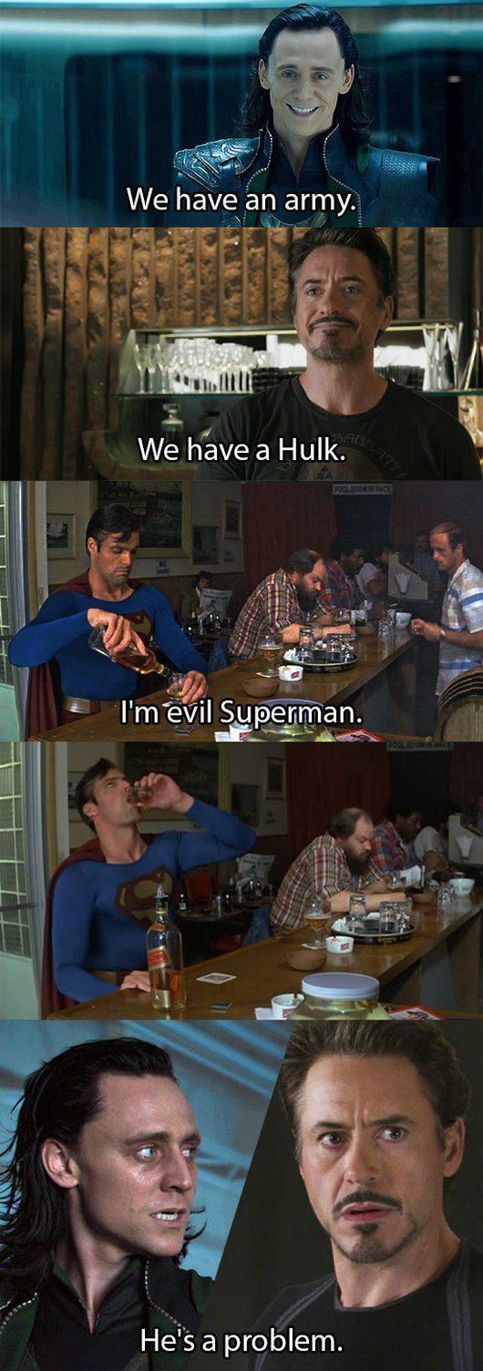I'm Evil Superman