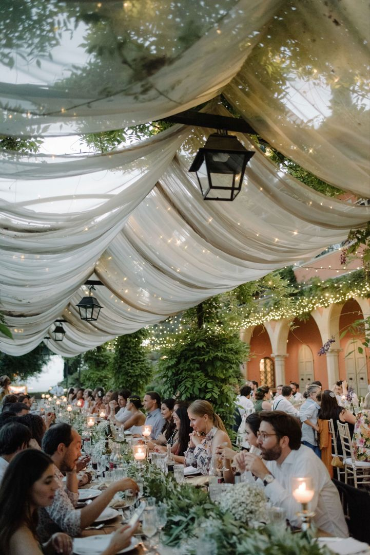 Wedding Dinner With A Florence View Rustic Italian Wedding Countryside Wedding Italian Wedding