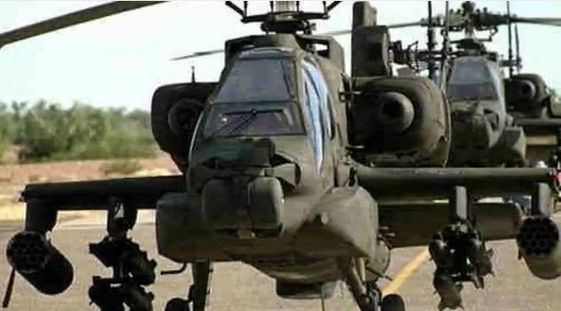 Boeing AH-64 Apache de E.E.U.U.