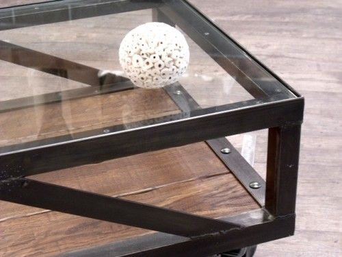 17 best ideas about table basse verre on pinterest for Table basse verre metal