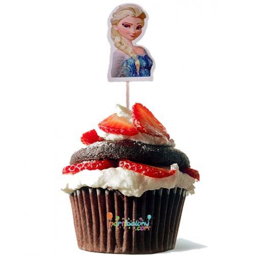 Frozen Kürdan Elsa Kürdan Ürün ÖzellikleriPaket olarak gönderilir ve paketin içinde 10 Adet Karlar Ülkesi Prensesi Baskılı Kürdan bulunmaktadır.Frozen kürdanlar renkli baskı ve 1. sınıf kalitededir.Elsa temalı kürdanlar paket halinde gönderilir.Doğum günlerinde yaptığınız pasta ve kekler için süs ola