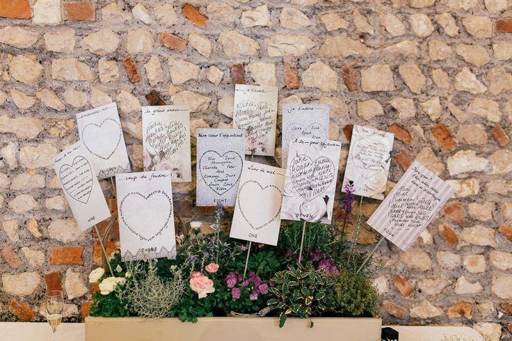 Rustic Wooden Planter Box Table Plan | Classic Wedding | Rustic Barn Reception | Farbridge Barn in Sussex | DIY paper flower wall backdrop | Images by Joanna Nicole Photography | http://www.rockmywedding.co.uk/rachel-matthew/