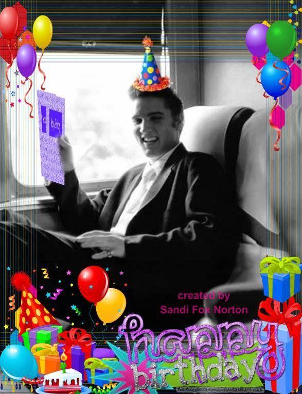 Happy Birthday Elvis Jan 8th