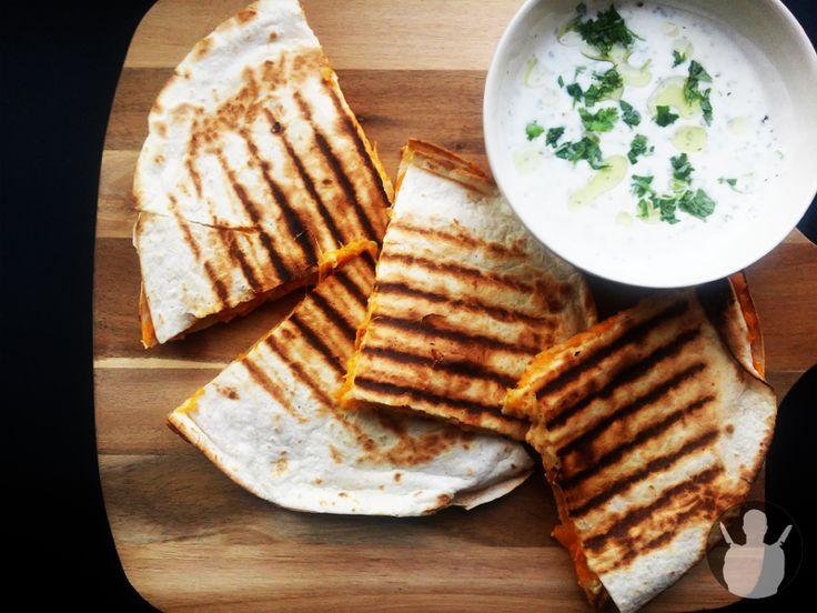 Quesadilla z batatami | MR. CHEF - COOK'S BLOG