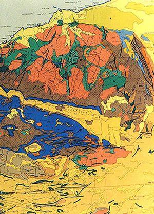 Pilbara And Hamersley The Hamersley Basin Covers The Pilbara Archean Craton In The North